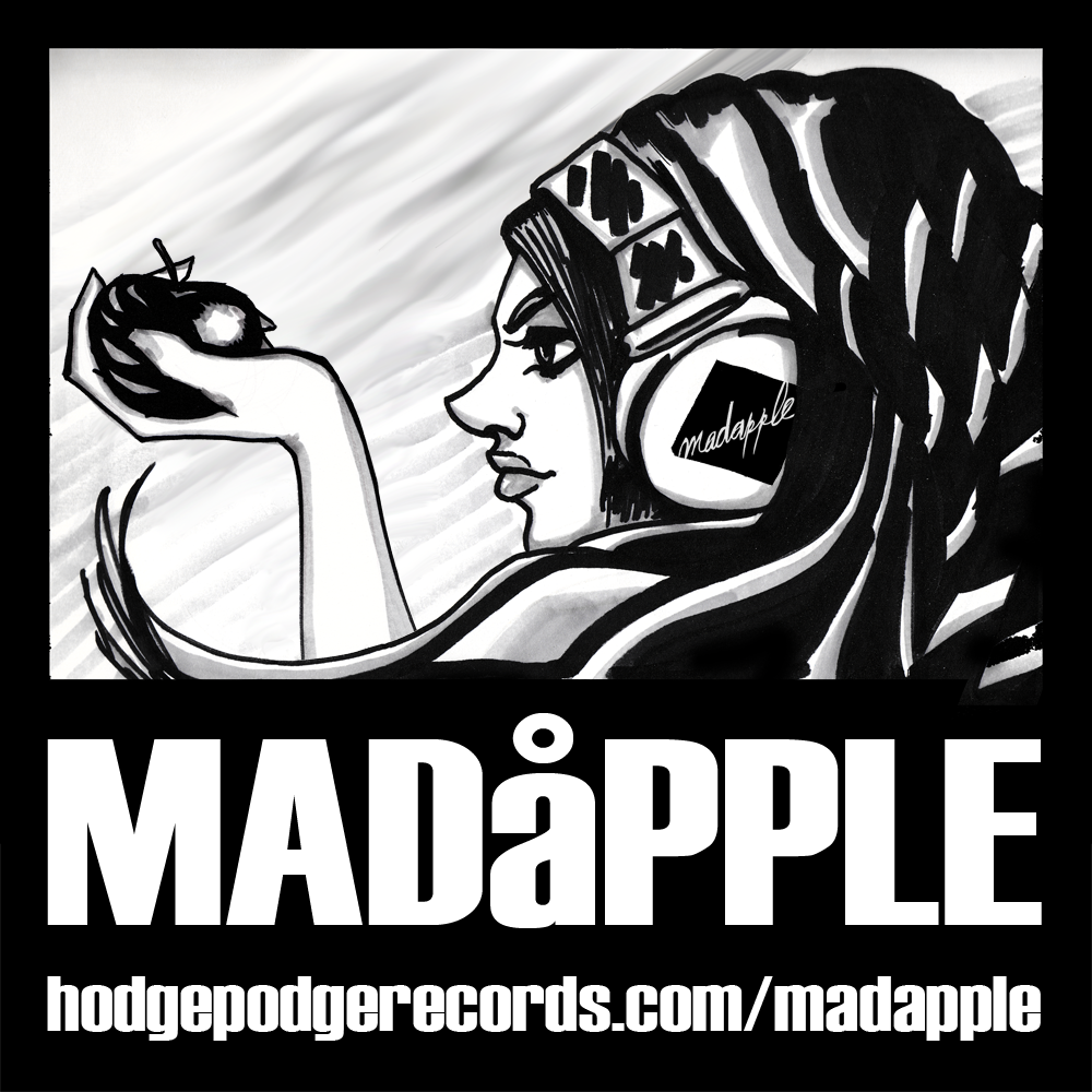 Madapple Headphone Girl